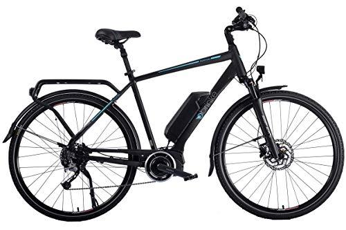 Brinke Bicicletta Elettrica Rushmore 2 DEORE Sport (Nero, L)