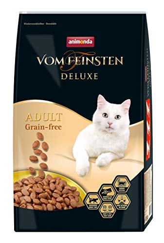 animonda Vom Feinsten Deluxe Adult Grain-Free Katzenfutter, Trockenfutter für erwachsene Katzen, 10 kg