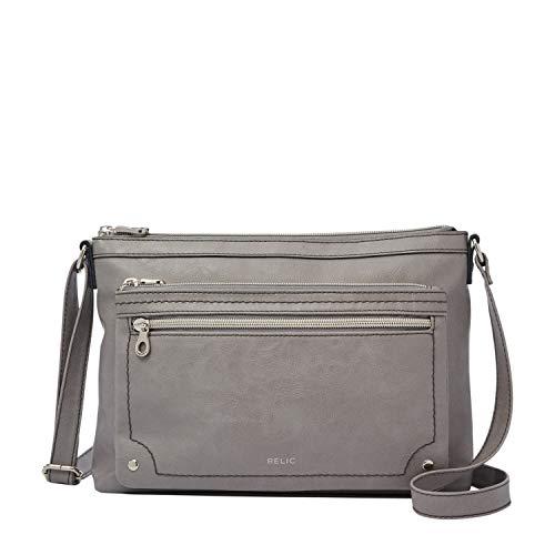 Relic by Fossil Women's Evie Crossbody Handbag, Color: Smoke Model: (RLH8500793)