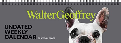 Walter Geoffrey Undated Weekly Desk Pad Calendar