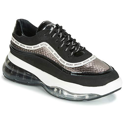 BRONX BUBBLY Sneakers femmes Zwart Lage sneakers