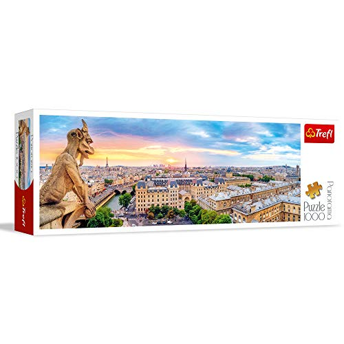 Puzzle 1000 Widok z katedry Notre Dame