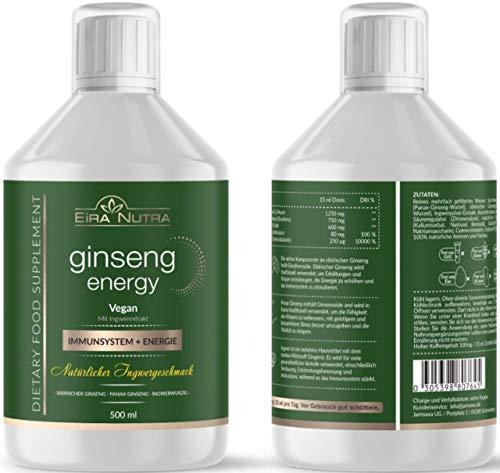 Eira Nutra Ginseng Energy, Ginseng, Menthal Focus, Immunsystem