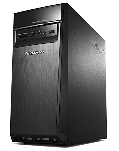 Lenovo H50-55_ES CTO Desktop, Processore AMD A10-8750, RAM 8 GB, 1 TB HDD, Scheda Grafica Nvidia GT 730, S.O. Windows 10 Home, Nero, Tastiera Italiana