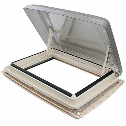 MPK VisionStar L Pro - Campana panorámica tintada para claraboya, 70 x 50 cm