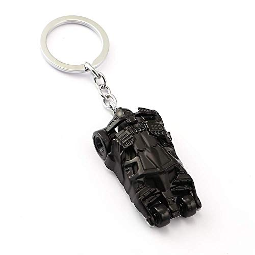 Mist Batman Car Batmobile DC Superhero Movie Collectible Metal Keychain for Car Bike Keys