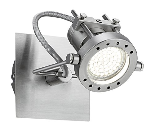 Khl LED Deckenlampe Wandlampe Quadrat ROBOT 2.0 1x5W warmweiss 10x10cm Lampe Leuchte Deckenlampe Deckenleuchte