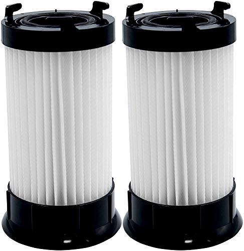 Aliddle (2 pack)Vacuum Filter Replacement For Eureka Part DCF4, DCF-4,DCF-18, 4704BLM, 4702A, 4704BLU, 4704FRD, 4704LMP, 4704LTA 4704ONG, 4704PNK, 4704PUR 63073C, 62132, 63073, 3690, 18505