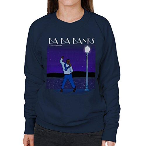 Fresh Prince of Bel Air La La Land Carlton Banks Mix Women's Sweatshirt