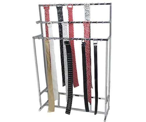 Yudu Gürtelständer Gürtelhalter Verkaufsständer mit 39 Haken Krawattenständer