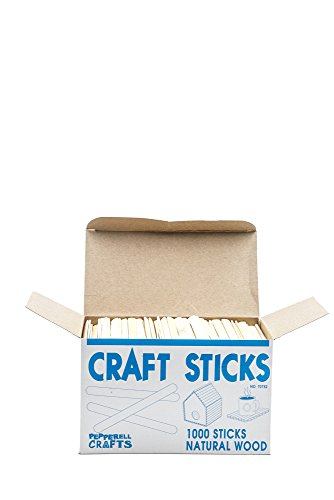 Craft Wood Sticks, Box of 1,000