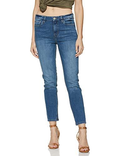 OVS Women's Skinny Fit Jeans (856020_Medium Blue_42)