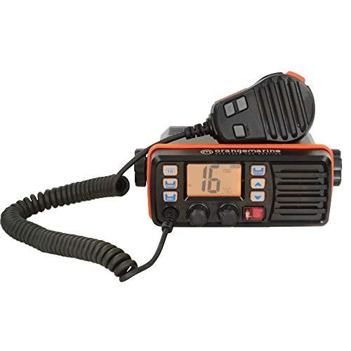 ORANGE MARINE Radio VHF Fija WP150, Negro/Naranja