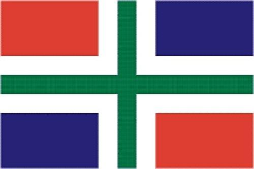 U24 vlag Groningen provincie Nederland 90 x 150 cm