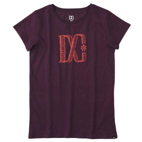 DC Shoes - Camiseta de Running para Mujer, tamaño 38 UK, Color Morado