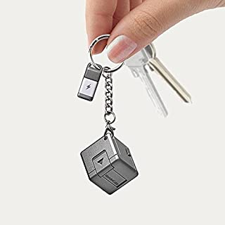 WonderCube - Mobile Essentials in 1 Cubic Inch -MFi lightning cable keychain +micro usb cable + Charge + Phone Stand + OTG usb + SYNC + Emergency Charger + Flash Memory + Led Torch-Kickstarter Funded
