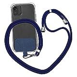 BEAUMYDY Cadena universal para teléfono móvil, para viajes, para llevar de viaje, para el cuello, compatible con cualquier teléfono móvil y smartphone, funda con cordón, collar para el cuello.