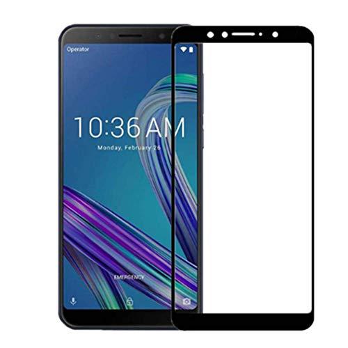 XMTN ASUS Zenfone Max PRO (M1) ZB601KL Pellicola Protettiva,Resistente Full Coverage Durezza 9H Vetro Temperato Protezione Schermo per Zenfone Max PRO (M1) ZB601KL Smartphone (Nero)