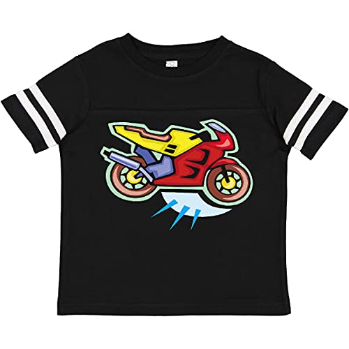 inktastic Crotch Rocket Toddler T-Shirt 3T Football Black and White 99f