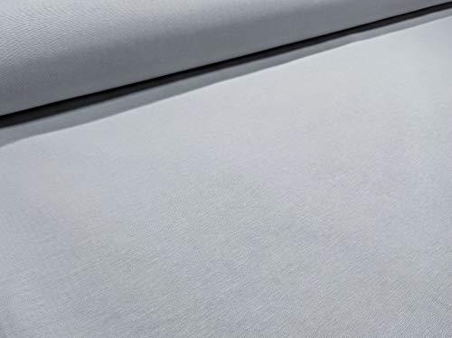 RIVERO Tejidos. Tejido de loneta Lisa en Color Gris Perla nº 701 con 280 cm de Ancho. Se Vende por Metros. Ideal para la confección de Cortinas, manteles.
