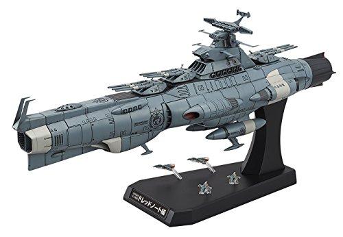 宇宙戦艦ヤマト2202 地球連邦主力戦艦 ドレッドノート級 ドレッドノート 1/1000スケール 色分け済みプラモデル BAN216388