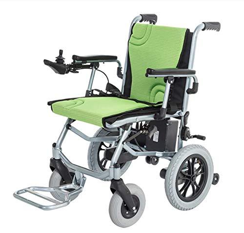 YAO ultralichte elektrische rolstoel draagbaar vouwt slechts 16 kg Ontwikkeld voor ouderen en gehandicapte mensen - 300 W borstelloze motor -12 AH Li-Ion accu uithoudingsvermogen 20 km