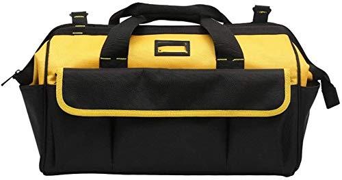 Mochila multiusos Bolso de instrumento eléctrico profesional, Viajes Moda Duffels amplia boca de la bolsa de almacenamiento de herramientas resistente al agua, de múltiples funciones incluyendo la bol