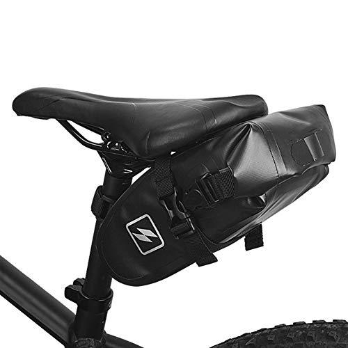 Bolsa de cuadro de bicicleta Impermeable carretera de montaña bici de la silla de montar bicicleta bolsa de cuña Paquete Volver asiento trasero de la cola bolsa bolsa de tintorería para MTB al aire li
