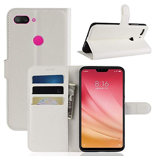 Lapinette Funda Tipo Xiaomi mi 8 Lite - Blanco - Blanco