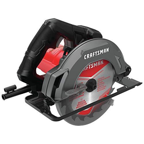 Sierra circular Craftsman de 7 – 1/4 pulgadas, 13 Amp (CMES500)