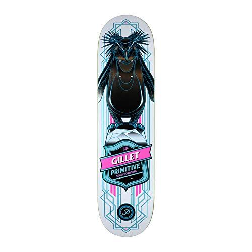 Primitive Gillet Pro Penguin 8 Inch Skateboard Deck 8 inch Multi