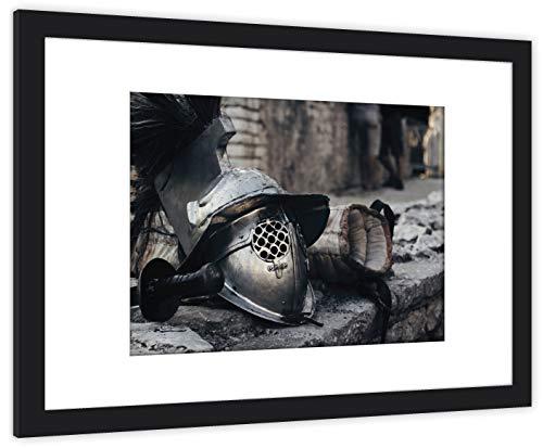 GaviaStore fotografia di altissima qualità - con cornice 70x50 cm - stampe quadri quadr poster fotografic foto arred casa art print home decor soggiorno sala paret dipint (Roma)