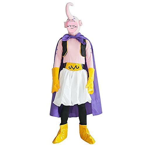 Dragon Ball Majin Buu Cosplay Costume Anime Uniform Suits for Anime exhibition L Pink