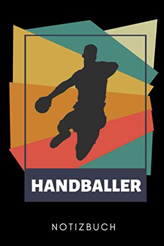HANDBALLER NOTIZBUCH: A5 Notizbuch KARIERT Handballer Geschenke   Handball Buch   Training   Sport   Handballtraining   Handballmannschaft   Trainingsbuch   Trainingstagebuch
