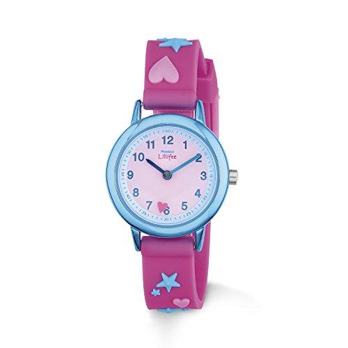 Prinzessin Lillifee Mädchen-Armbanduhr Analog Quarz Silikon 2013219