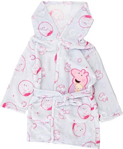 Peppa Pig Albornoz de forro polar para niñas