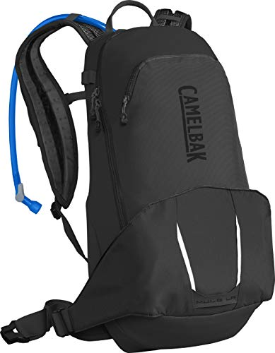 CAMELBAK Mule Low Rider 15 Hydration Pack - Stealth, 15L / 15 Litre LR Hydrate Backpack Rucksack Bag Bicycle Cycling Cycle Biking Bike Mountain MTB Trail Crux Reservoir Bladder Water Drink Tank Store