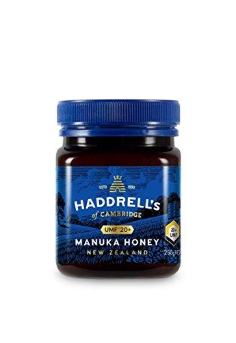 Haddrells of Cambridge Miel de Manuka | UMF 20+ MGO 850+ | Miel de manuka pura premium de Nueva Zelanda | 250g
