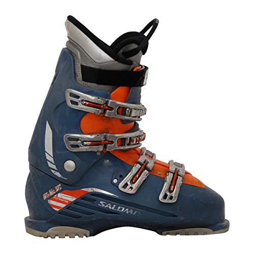 SALOMON Gebrauchter Skischuh führt 660 orange blau