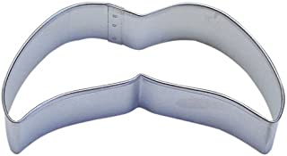 Moustache B Tin Cookie Cutter 10cm . B0874