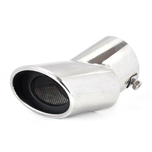 Silenziatore per tubo di scarico auto in acciaio inox tono curvo per Hyundai ix35 Tucson 2010-2014