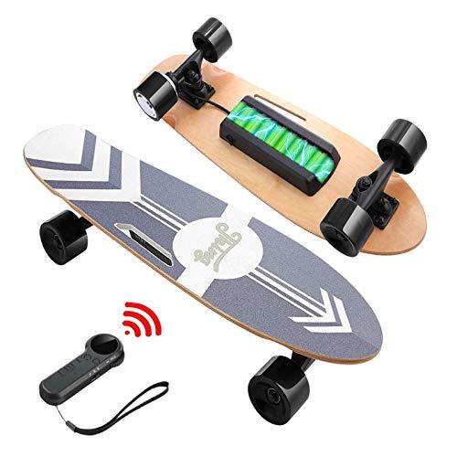 Nesaila 70 cm Skateboard Eléctrica con Control Remoto, Longboard de 7 Capas...