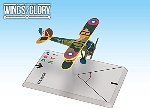 saludable Wings of Glory Airplane Pack Pack Pack - Nieuport Ni.28 (Rickenbacker) - Figure by Ares Games  comprar nuevo barato