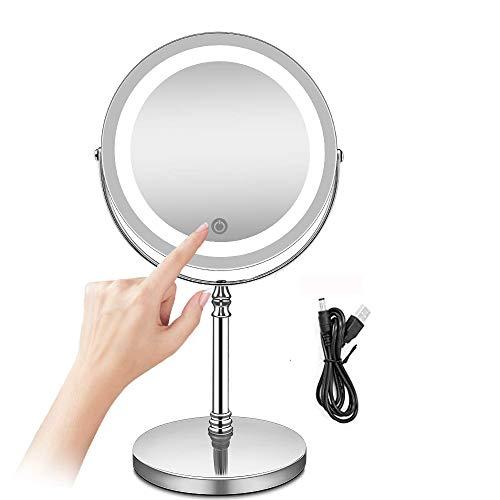 Miroir De Salle De Bains Coiffeuse, Miroir De Maquillage 40cm // 50cm // 60cm // 70cm Simple Miroir Rond sans Cadre pour Salle De Bain,Miroir Mural Antid/éFlagrant Haute D/éFinition