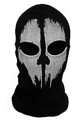 ChAmBer37 face mask, motif Call of Duty: Ghosts (skeleton head), skull motif, balaclava 09