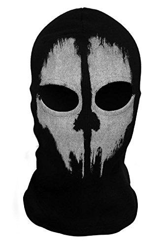 ChAmBer37 Gesichtsmaske, Motiv Call of Duty: Ghosts (Skelett-Kopf), Totenkopf-Motiv, Sturmhaube 09