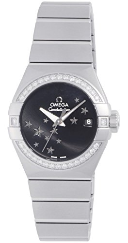 Photo of Constellation Chronometer Star Black Dial Stainless Steel Ladies Watch