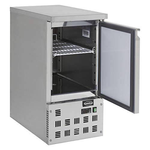 Table Réfrigérée Positive Compacte 109 L - 1 Porte - Combisteel - R600A 1 Porte Pleine
