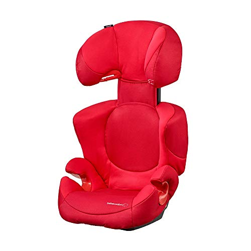 Bébé Confort Rodi XP, Siège-Auto Groupe 2/3 (15 à 36 kg), Avec Système De Protections Latérales, de 3,5 à 12 ans, Poppy Red