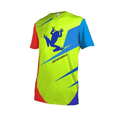 Uglyfrog+ Mountainbike Downhill Freeride BMX Trikot Shirt MTB Jersey Kurzarm